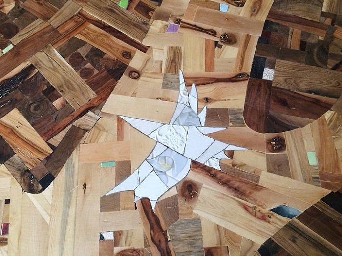 как стелить деревянный пол