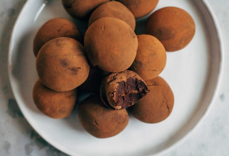 как сделать домашние конфеты шоколадные
