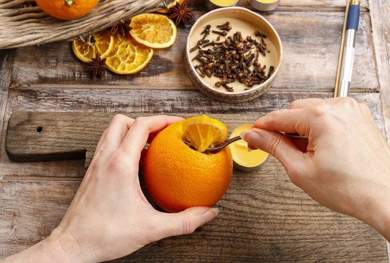 натуральний ароматизатор апельсин