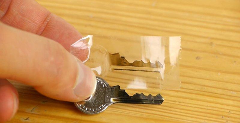 417Как сделать слепок ключа по ключу