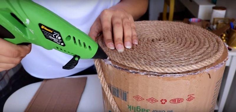 как сделать корзину дома