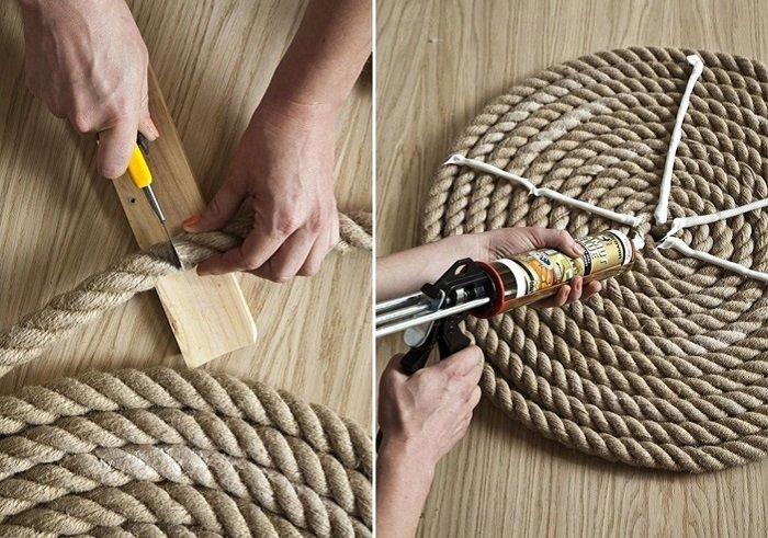 ковры из веревки