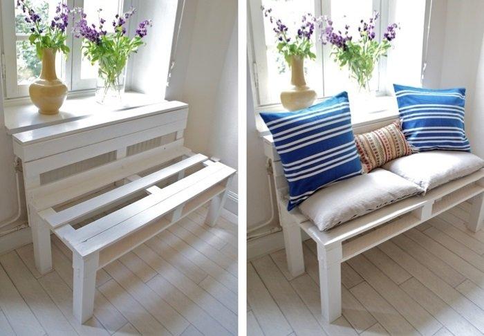 Мебель для балкона из поддонов