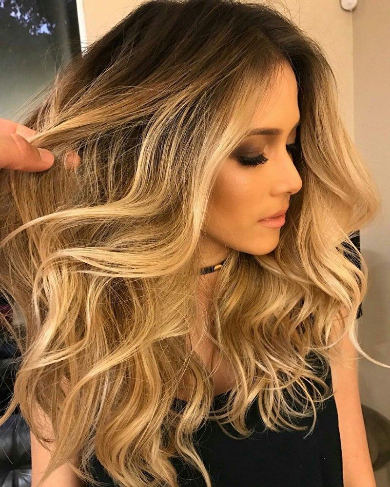 локоны на длинные волосы