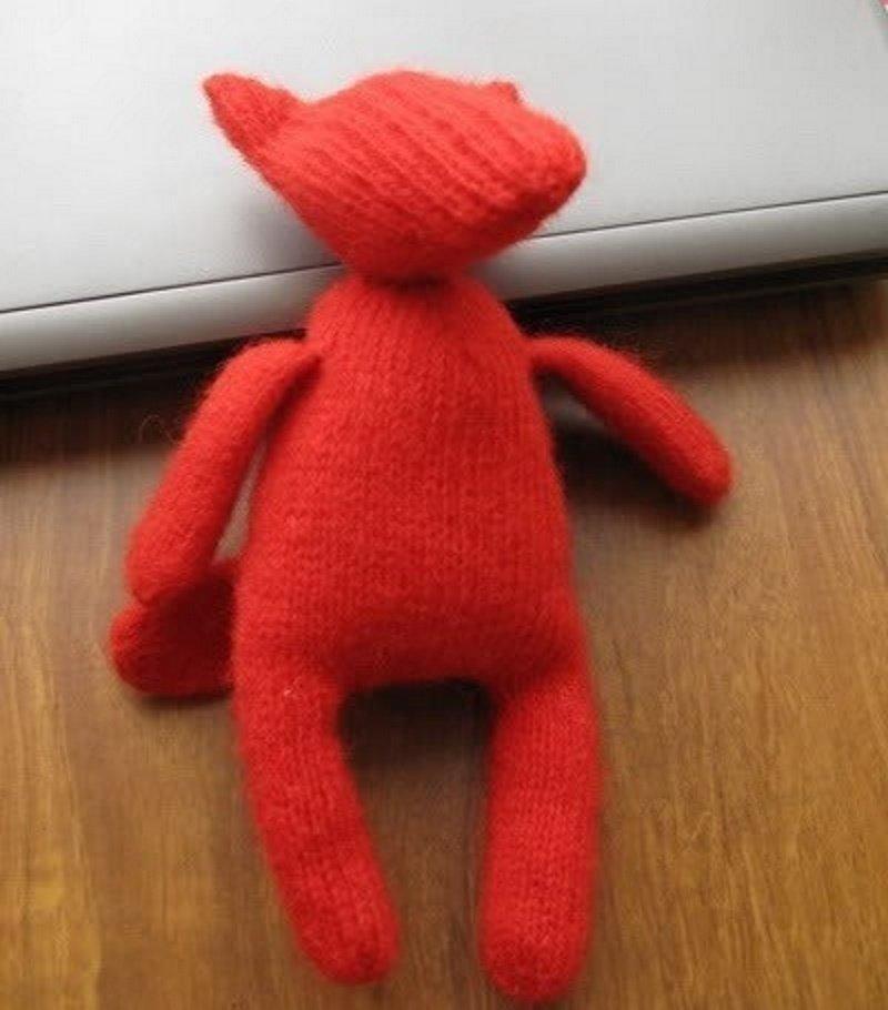 игрушка перчатка лисичка