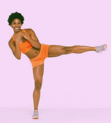 упражнения удары ногами