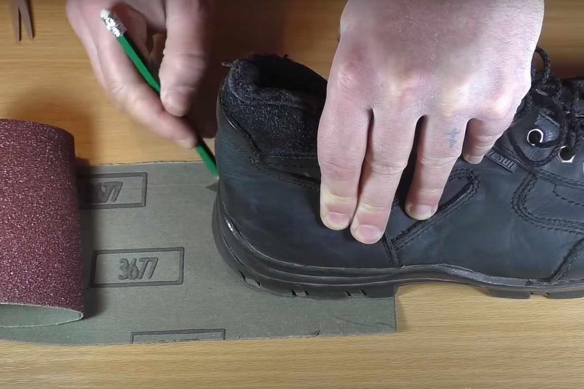 как сделать подошву обуви нескользкой