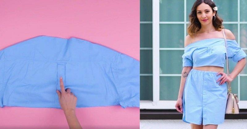как переделать старую одежду