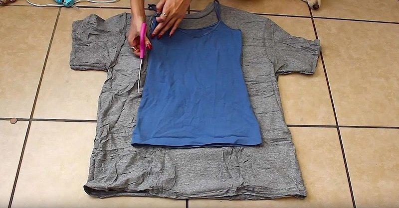 платье из футболки своими руками