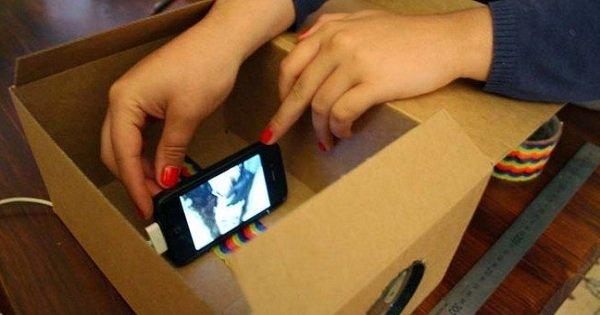 Она всего лишь положила смартфон в коробку. То, что произошло потом, удивило всех!