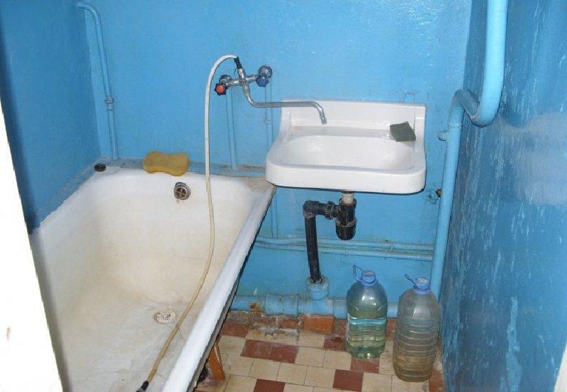 убрать старую чугунную ванну