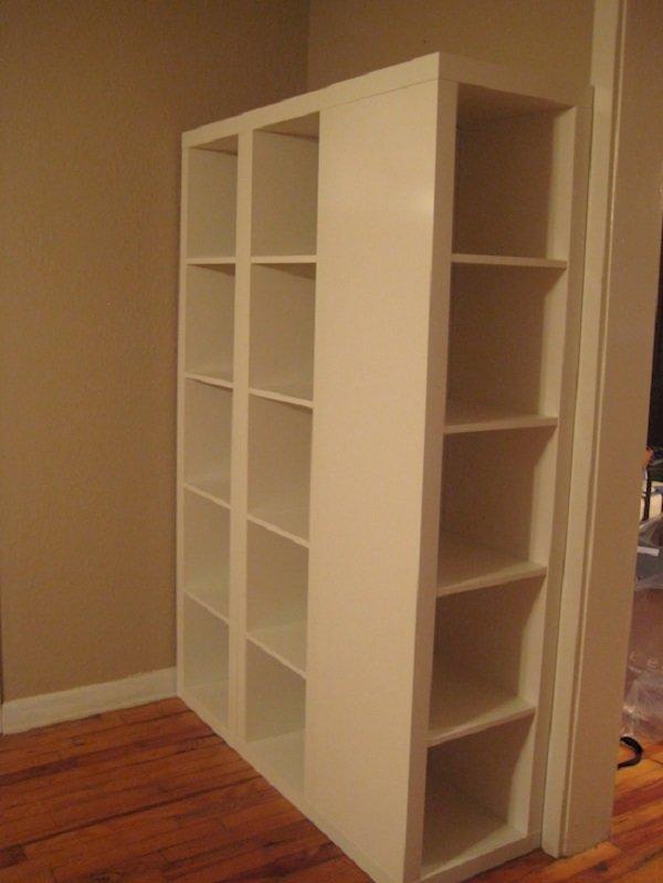 шкаф из полок фото