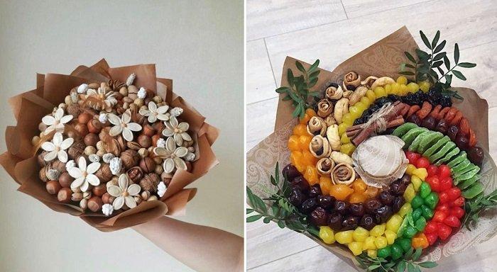 сладкий букет из цукатов