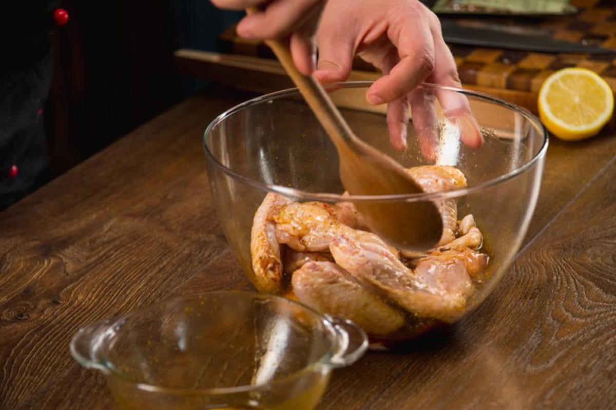 шашлык в тарелке