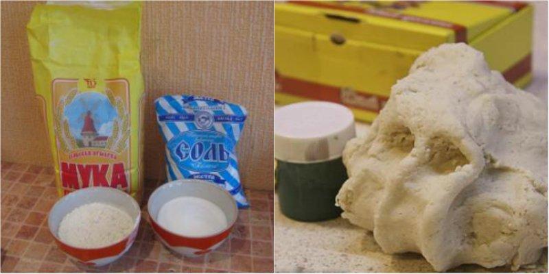 Как сделать тесто для фигурок фото 534