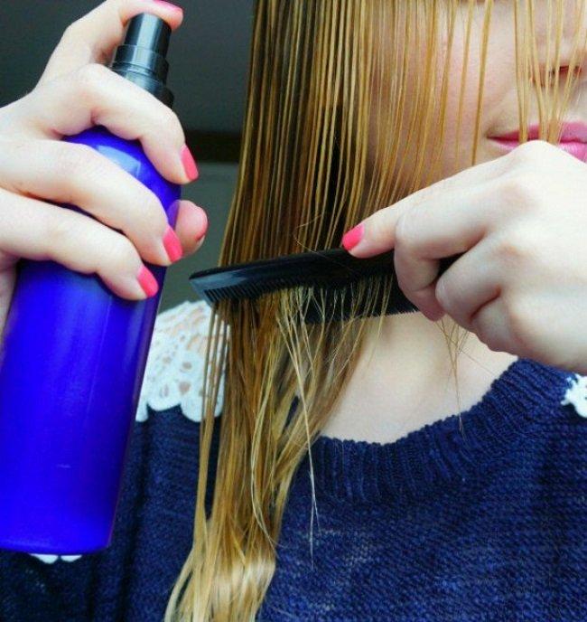 Запутанные Волосы В Расческе