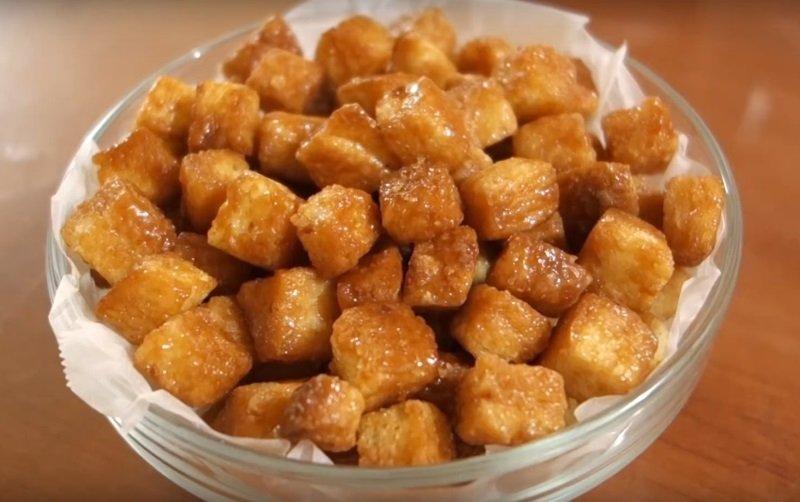сухари в сахаре
