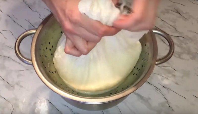 как сделать сыр из творога дома