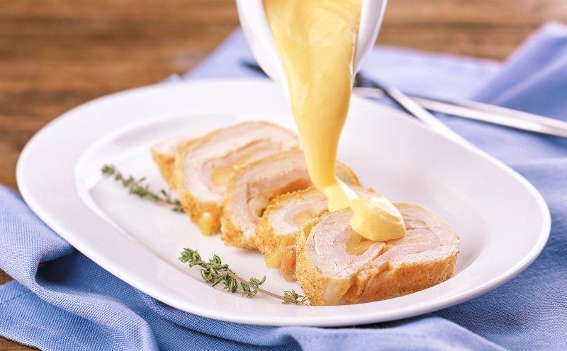 к чему подходит сырный соус