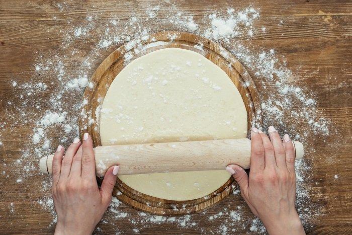 тесто для пиццы с кефиром