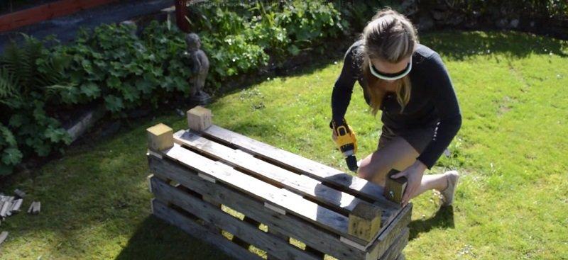 как сделать деревянный ящик