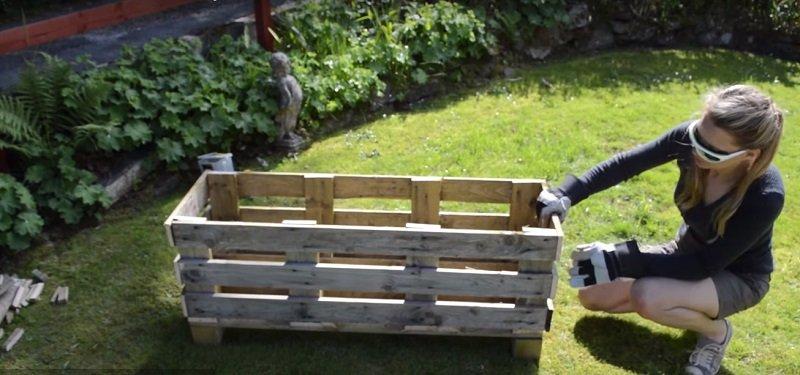 как собрать деревянный ящик