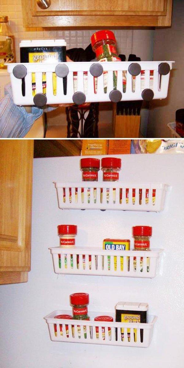 полки на холодильнике