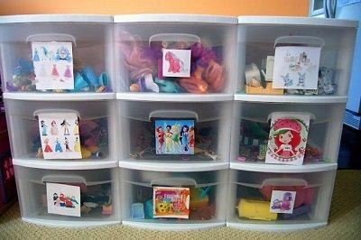 коробки для игрушек