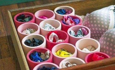 хранение нижнего белья