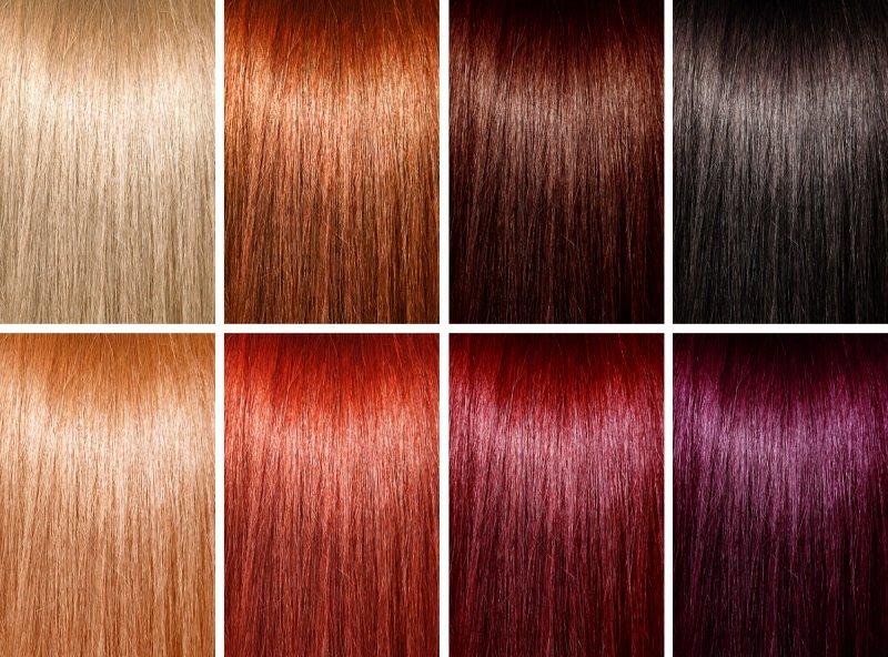 в какой посуде смешивать краску для волос