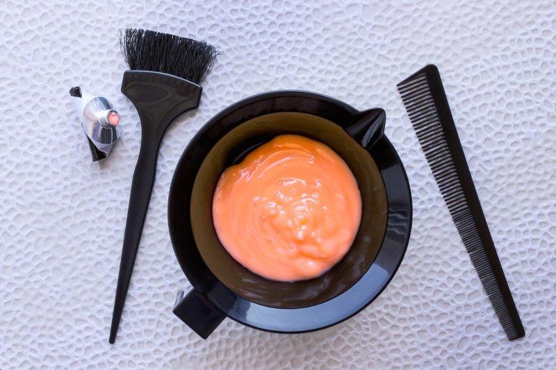 как смешивать краски для волос для получения нужного цвета