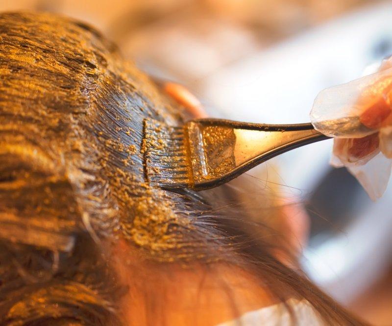как смешивать две краски для волос