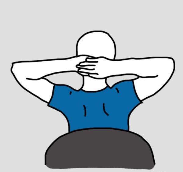 упражнение от боли в мышцах рудной клетки