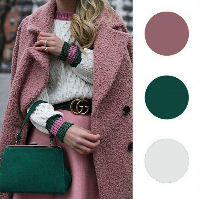 как сочетать цвета одежды