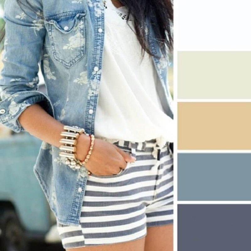 ako správne kombinovať farby