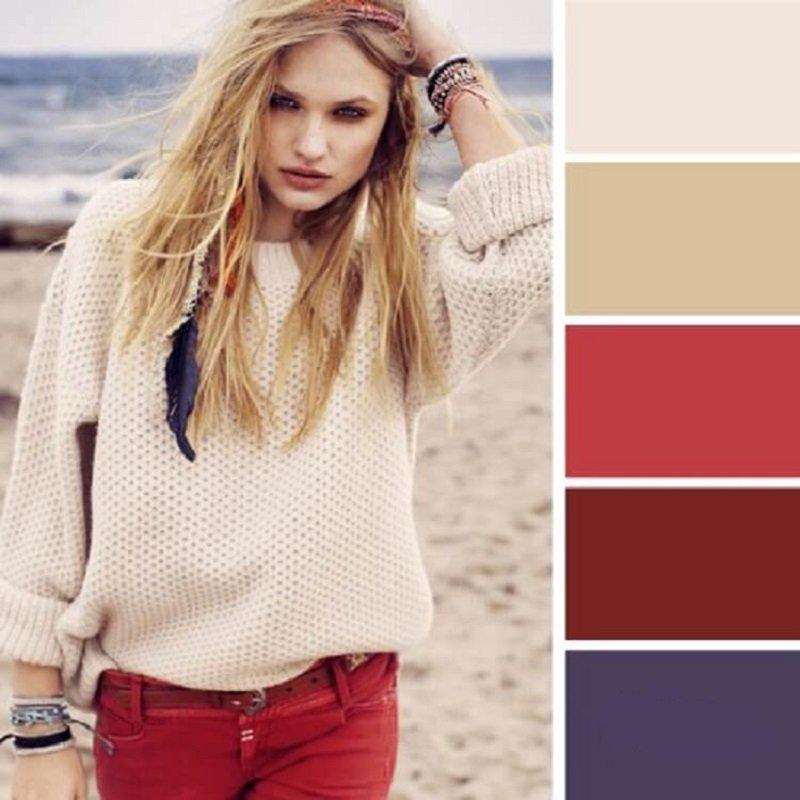 ako kombinovať farby
