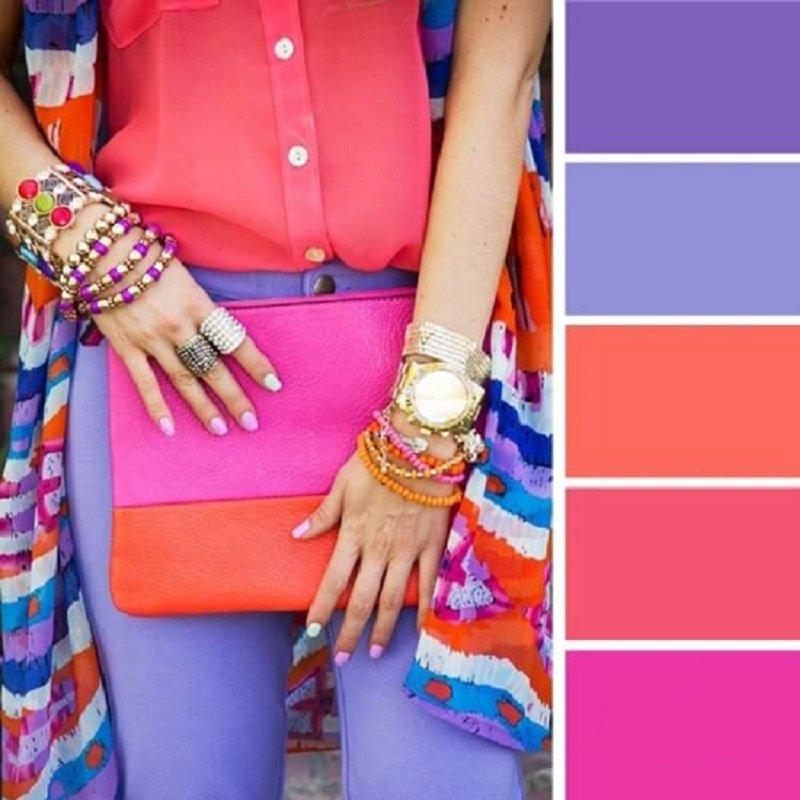 ako kombinovať farby v oblečení