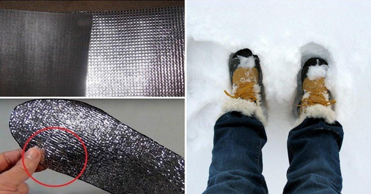 Как сделать чтобы было тепло в обуви 974