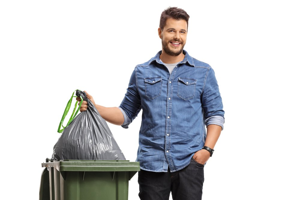 сортировка мусора пластик