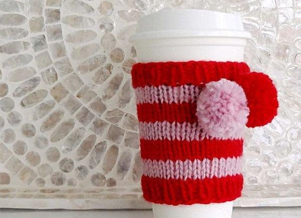 свитер для чашки