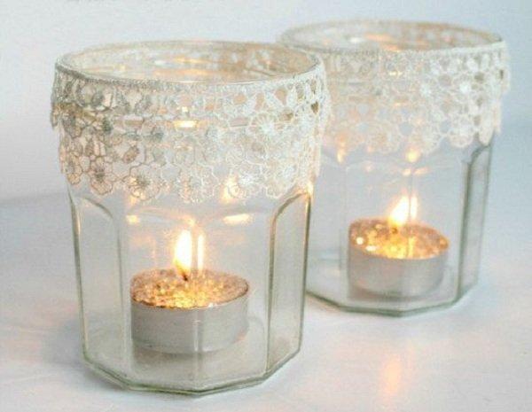 баночки со свечами