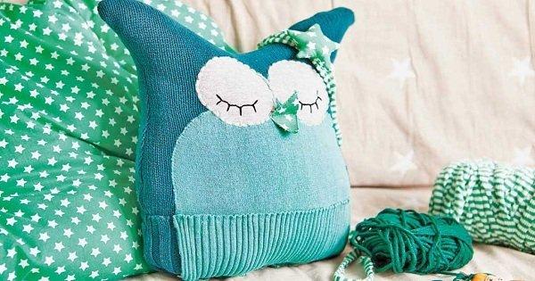 интересная подушка