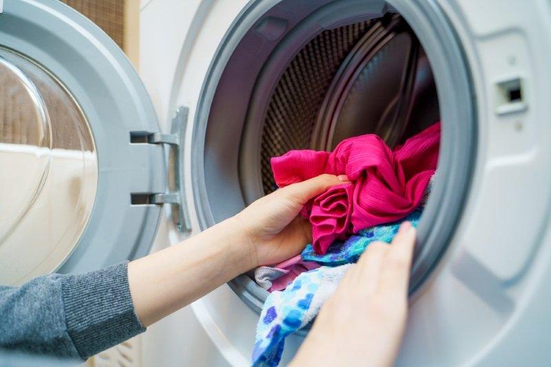 как правильно сушить вещи после стирки