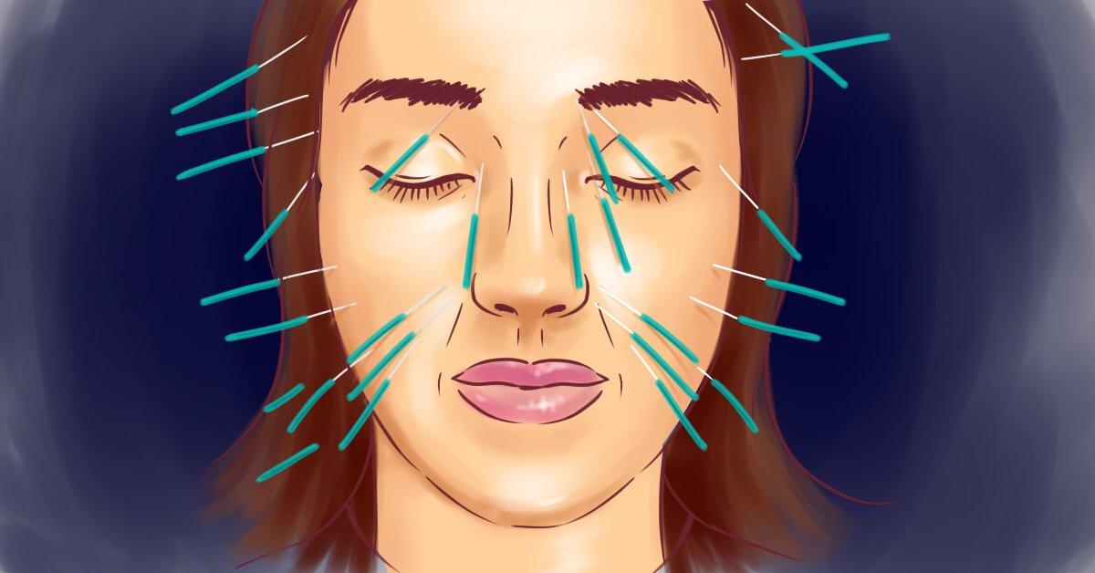 Как убрать морщины на лице
