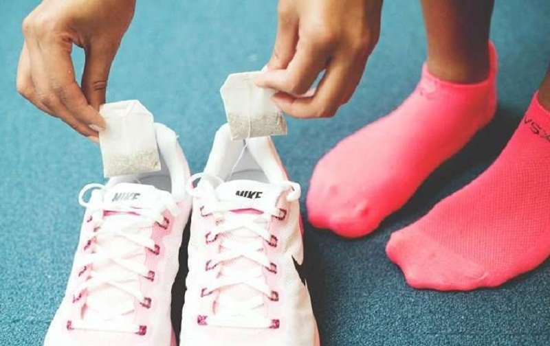 как убрать запах из обуви