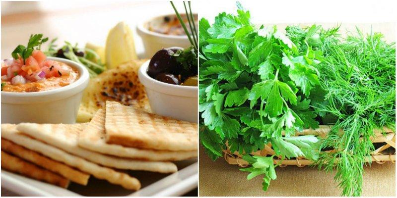 Зелените и белтъчни храни