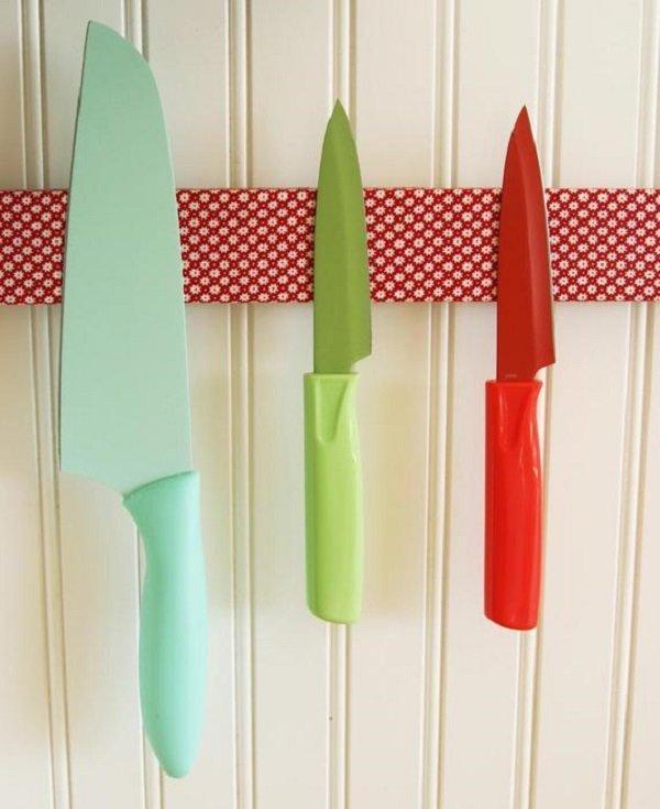 цветные ножи