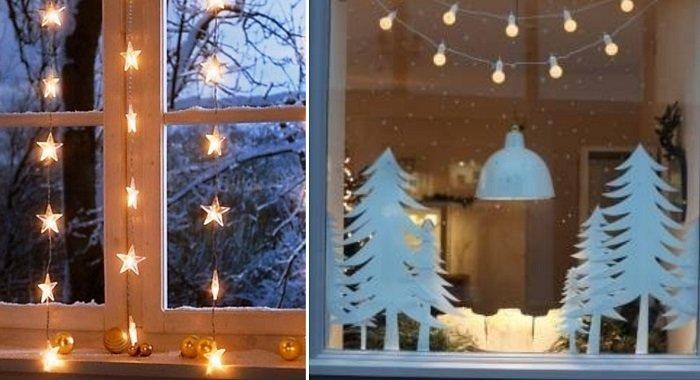 как украсить квартиру гирляндами на новый год