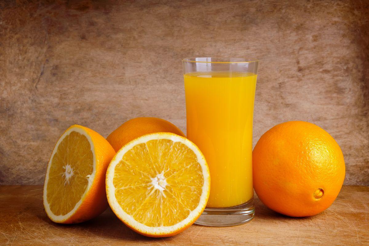 торт апельсиновый медовик