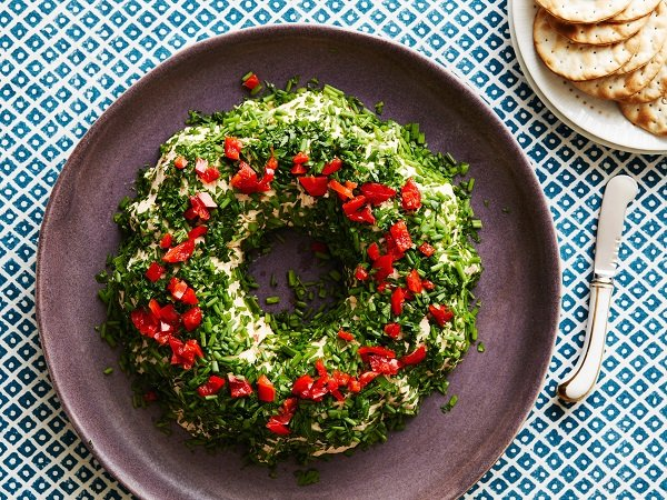 новогодний салат-венок